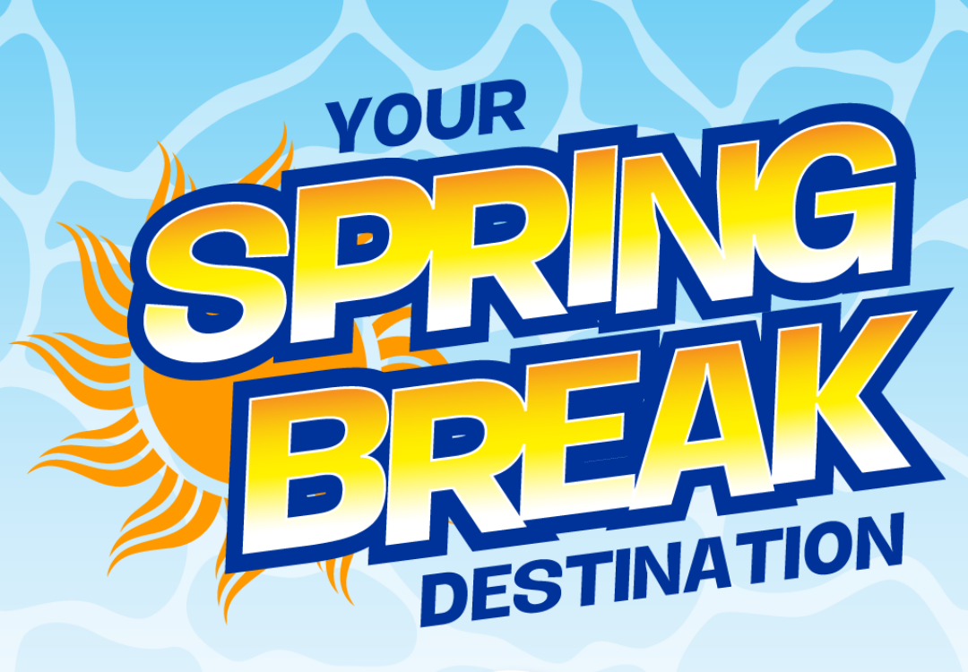 Spring Break Destination Logo
