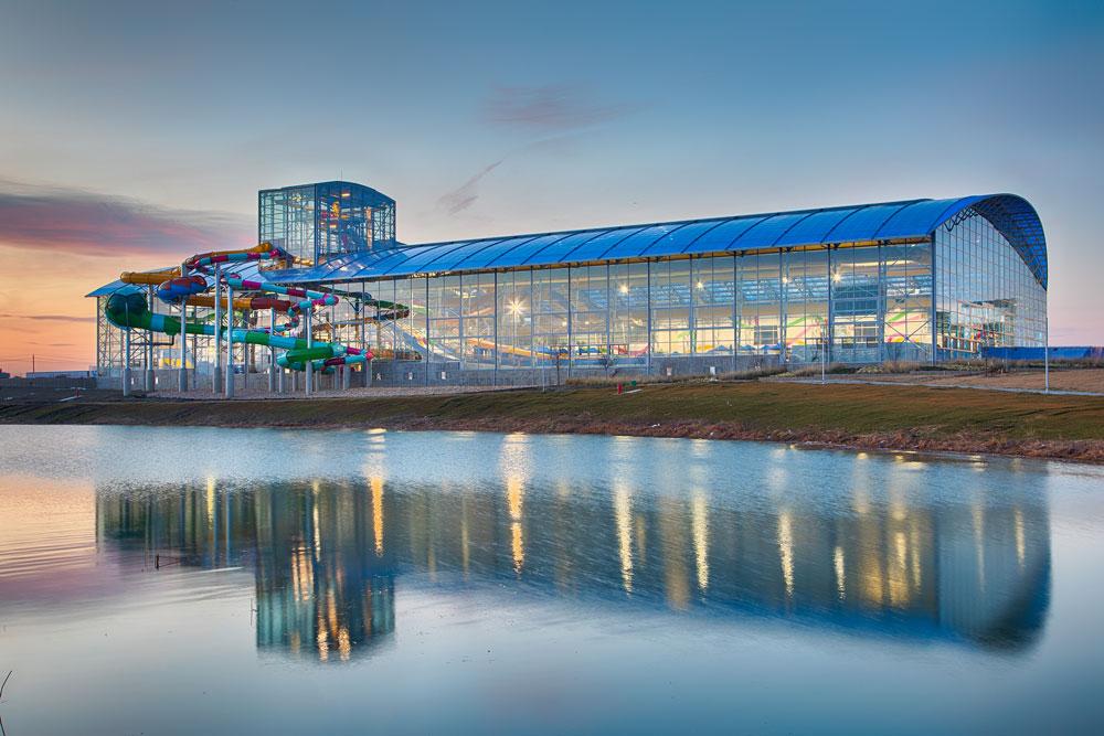 Epci Waters Indoor Water Park - Outdoor View