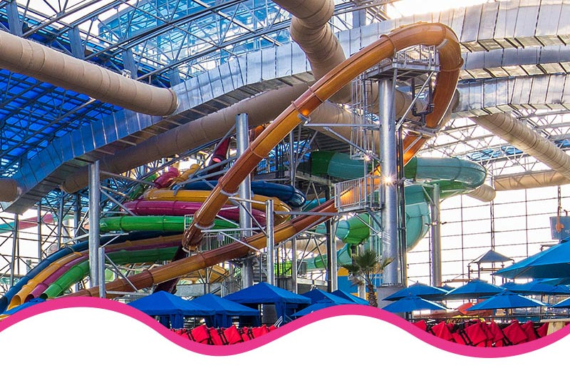 Epic Waters Tube Slides