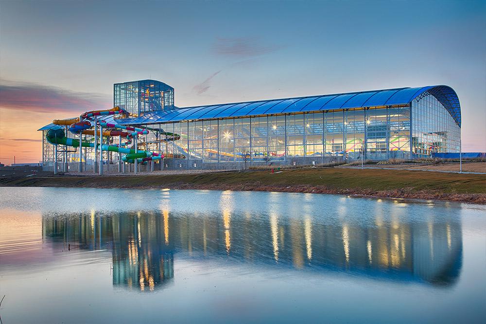Epic Waters Indoor Water Park - Outdoor View