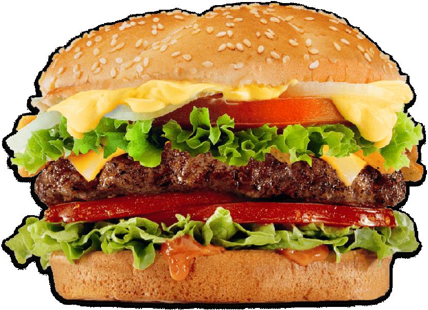 Hamburger Close Up